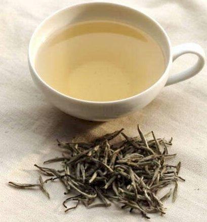 white tea. delicate.