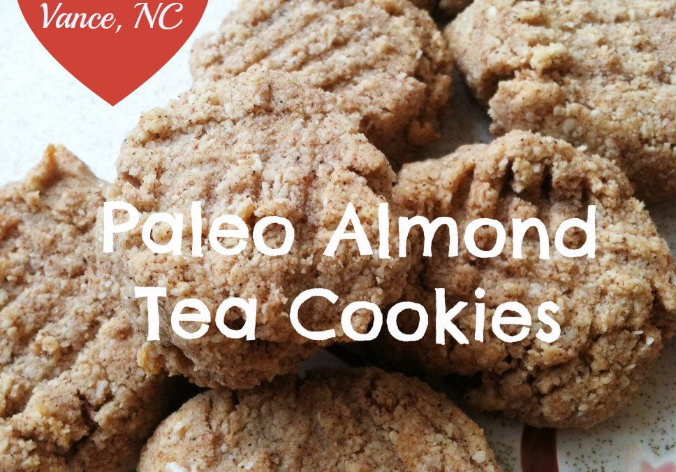 Quick Paleo Almond Tea Cookies (Vegan)