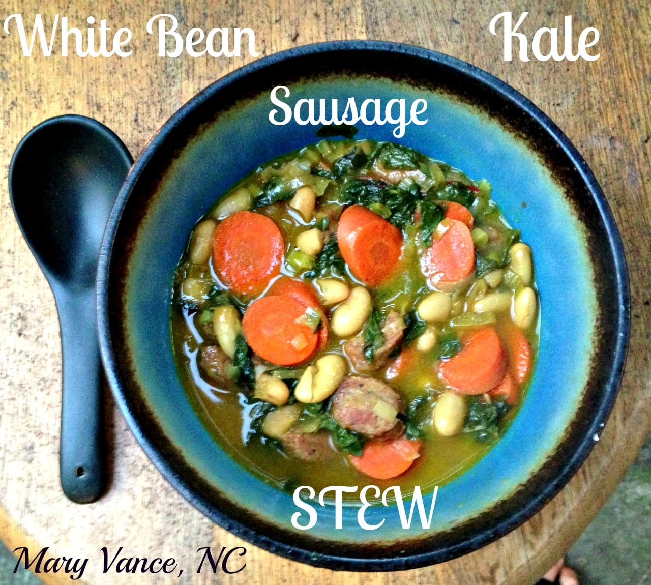 Delicious Kale, White Bean, and Sausage Stew