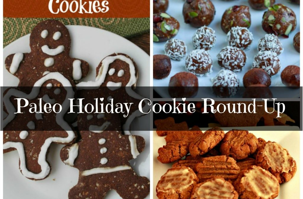 Paleo Holiday Cookie Round-Up!
