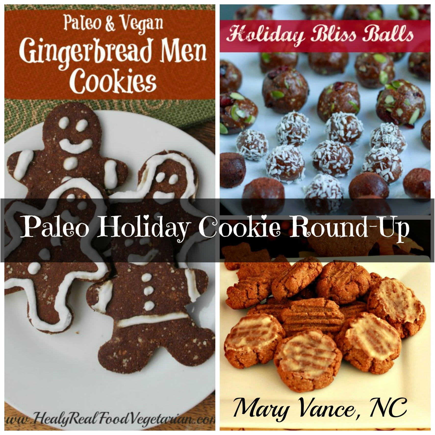Paleo Holiday Cookie Recipe Round-Up!