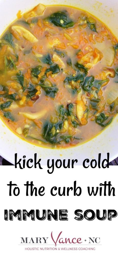 Immune Soup to Beat Illness--Mary Vance, NC (gluten free & paleo)