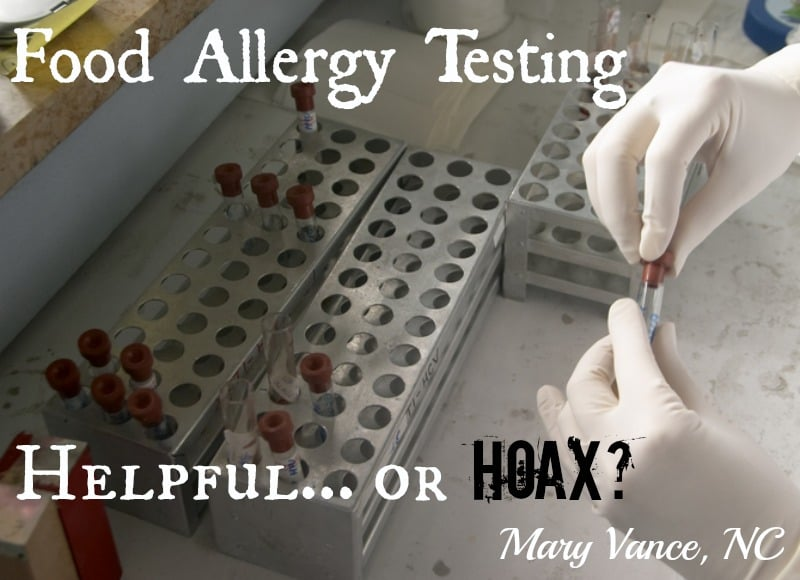 Food Allergy Testing: Helpful or Hoax?