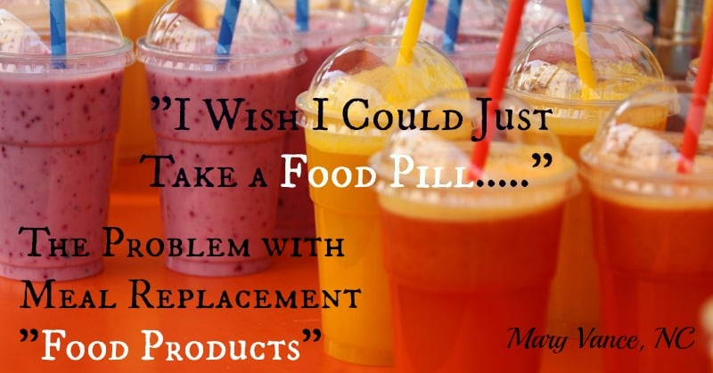 The Problem with Soylent and Meal Replacements