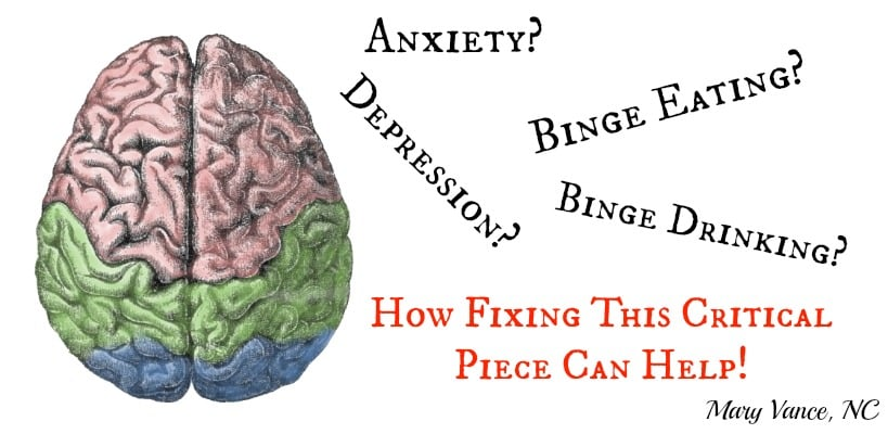 Help for Anxiety, Depression & Binge Eating