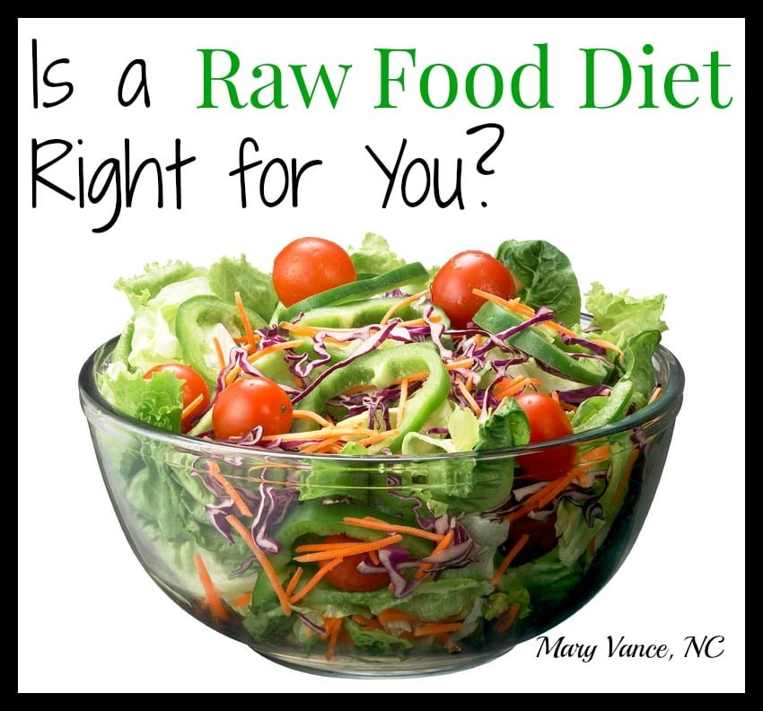Mostly Raw Food Diet Recipes