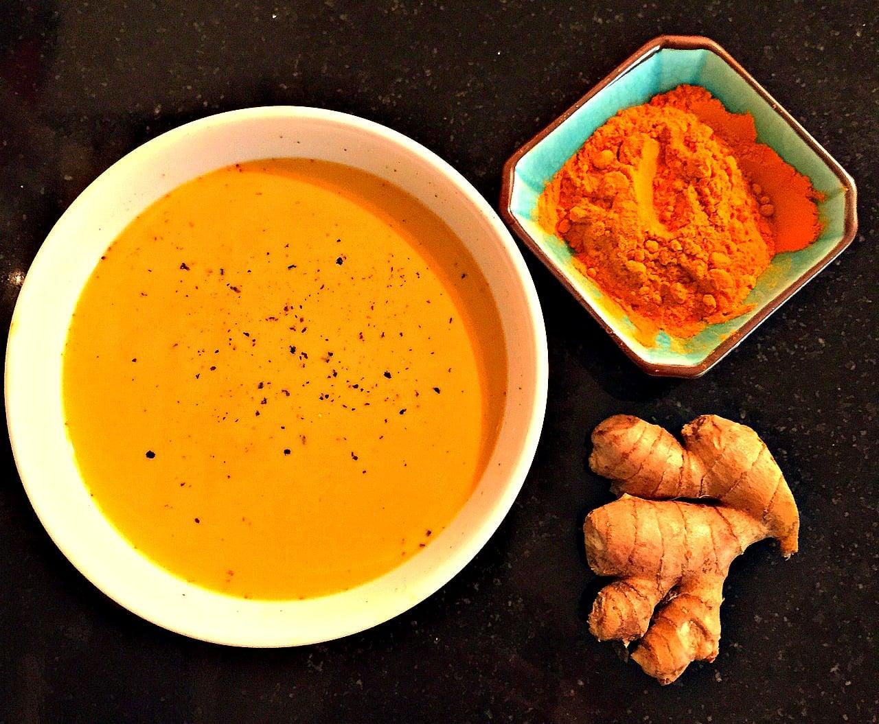 Combat Seasonal Allergies with Golden Turmeric Milk