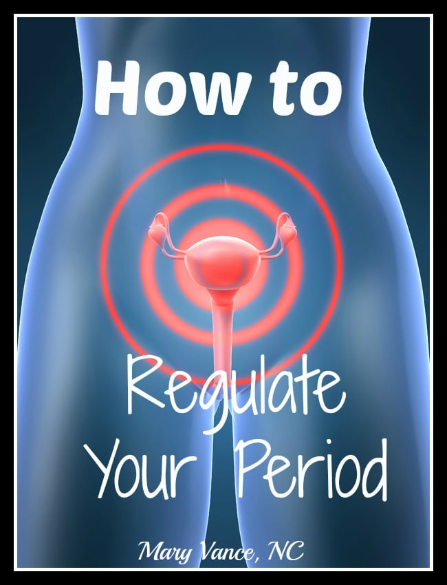 How to regulate your periods naturally.