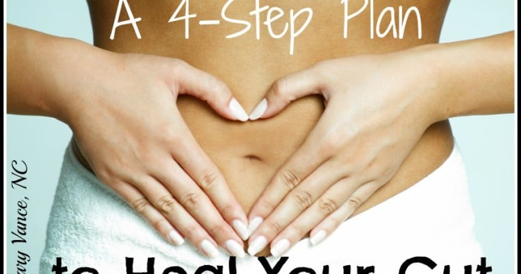 A 4-Step Plan to Heal Your Gut--Mary Vance, NC