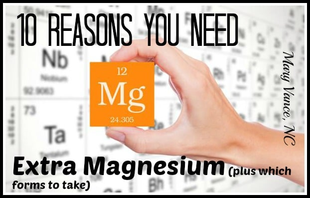 Ten Reasons You Need Magnesium