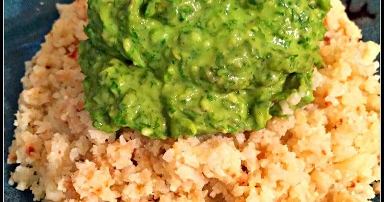 Creamy Cilantro Pesto (Vegan)--Mary Vance, NC
