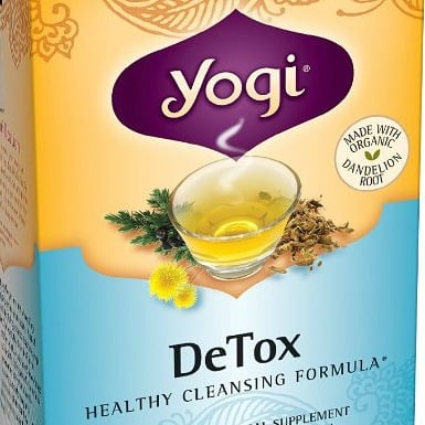 Yogi Teas Detox, (Pack of 6)