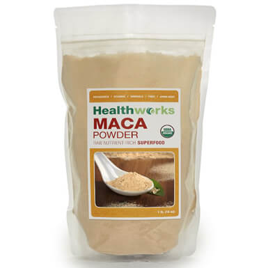 Healthworks Organic Raw Maca Powder