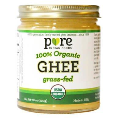 Grassfed Organic Ghee