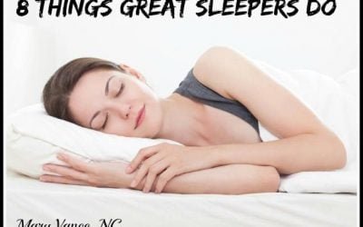 8 Things Great Sleepers Do