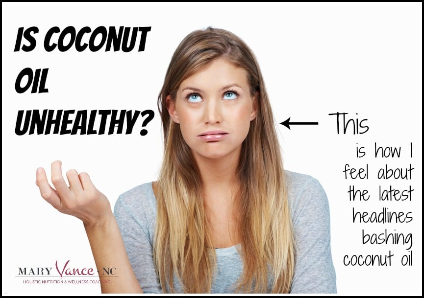 Is Coconut Oil Unhealthy?