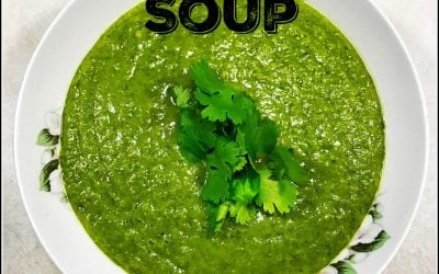 Everything But The Kitchen Sink Detox Green Soup