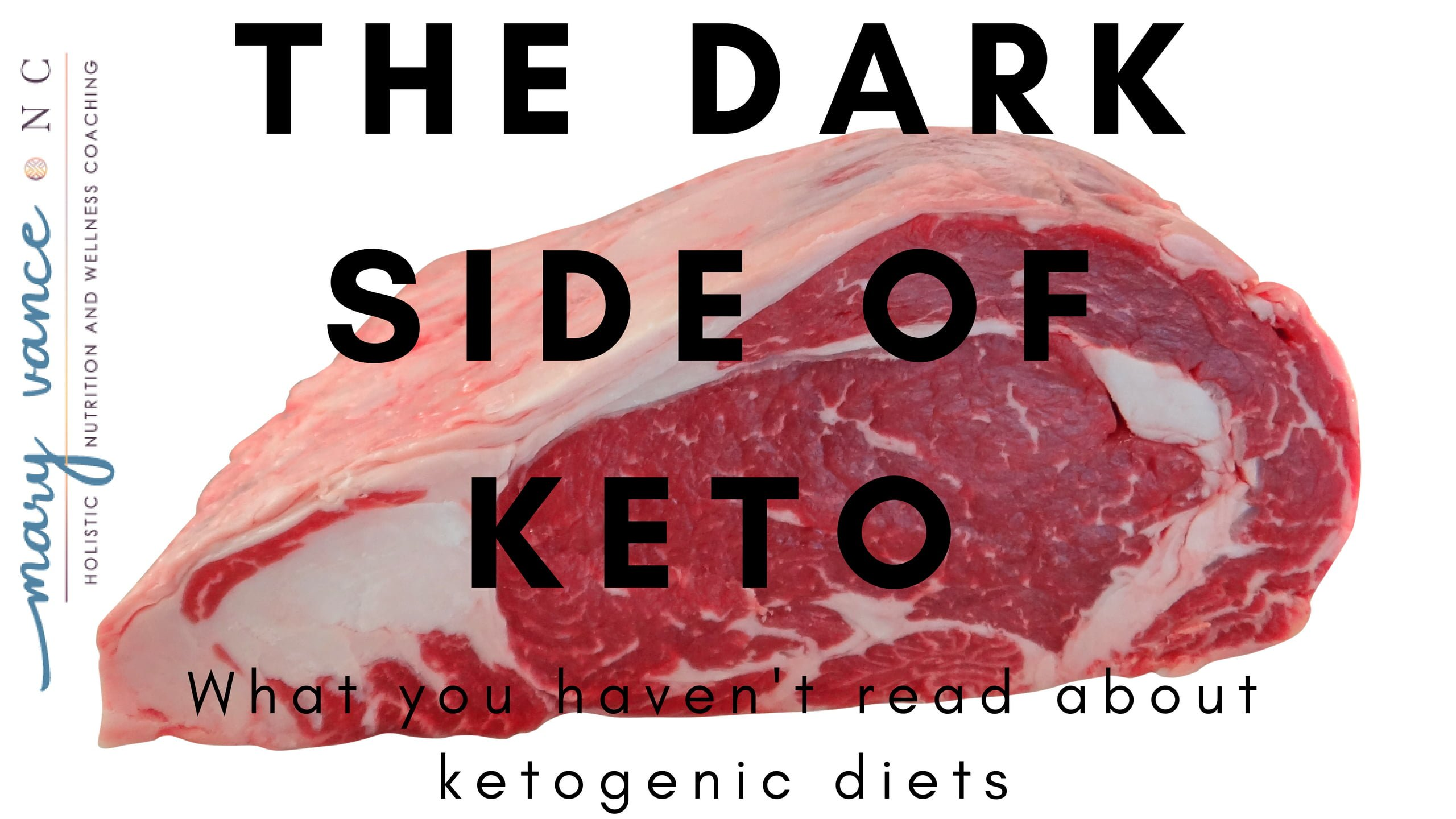 The Dark Side of Keto - Mary Vance, NC