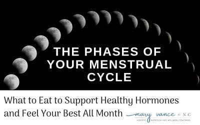 What to Eat During Each Phase of Your Menstrual Cycle