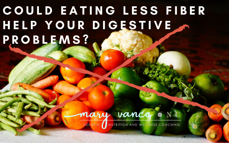 Could a Low Fiber Diet Help Your Digestive Problems?