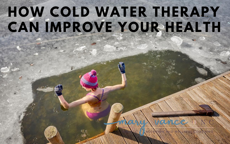 How Cold Water Therapy Can Improve Your Health